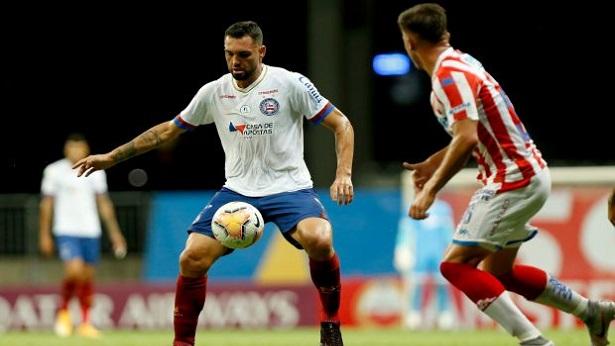 Bahia bate Unión Santa Fé e larga na frente nas oitavas da Sul-Americana - noticias, esporte