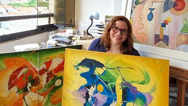 Artista plástica Gêiza Barreto participa de exposição individual e coletiva em Nova Iorque - noticias, literatura, bahia