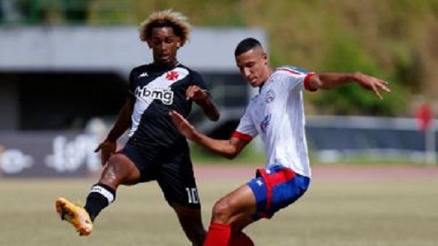 Sub-20: Bahia perde para o Vasco no jogo de ida em Pituaçu - esporte