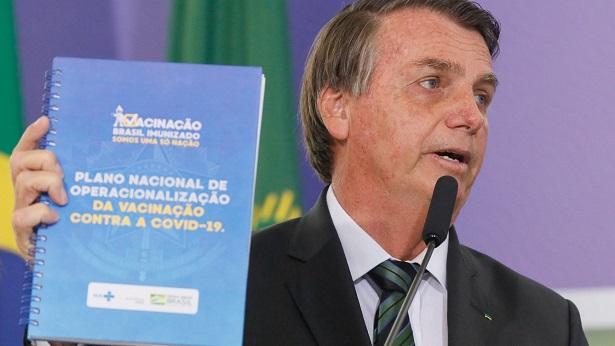 Justiça dá 72 horas para Planalto explicar sigilo do cartão de vacinação de Bolsonaro - brasil