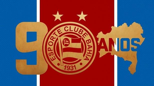 Esporte Clube Bahia completa 90 anos tentando se manter na Série A - esporte