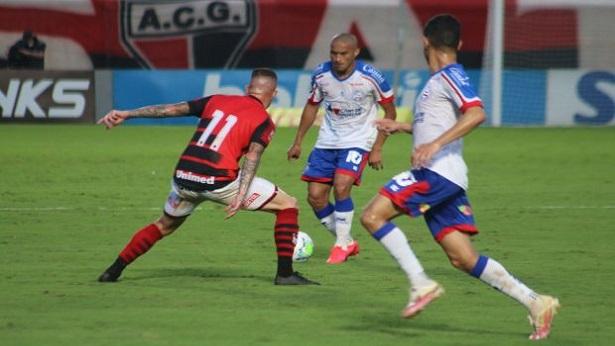 Bahia empata com o Atlético-GO e volta a pontuar no Campeonato Brasileiro - esporte