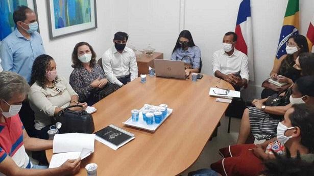 SAJ: Gestão municipal se reúne com integrantes da comunidade Nova Canaã - saj, noticias, destaque