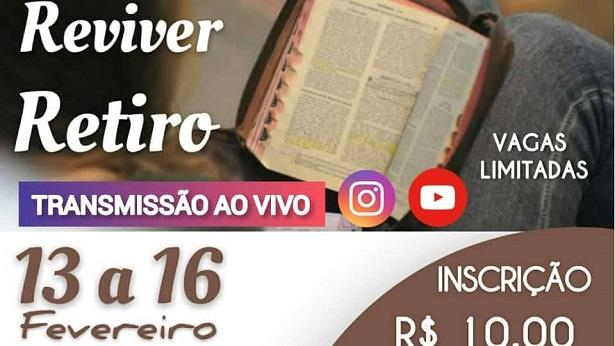 """Cruz das Almas: Vem aí o evento católico """"Reviver Retiro"""" - noticias, destaque, cruz-das-almas, catolico"""