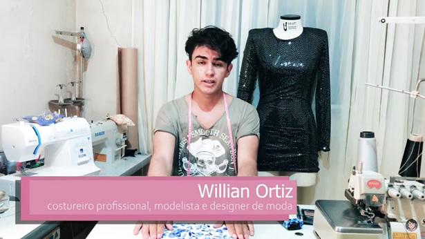 Aluno de moda cria projeto on-line para ensinar corte e costura de forma gratuita - moda, dicas
