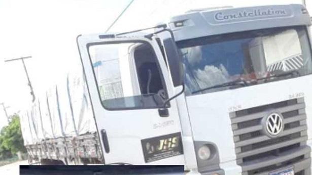 Tucano: Dono de caminhão furtado dar recompensa de R$40 mil para quem encontrá-lo - tucano, saj