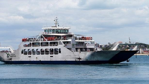 Toque de recolher: Operação de Ferry-Boats e lanchas entre Salvador e Itaparica finaliza às 19h durante decreto - salvador, itaparica