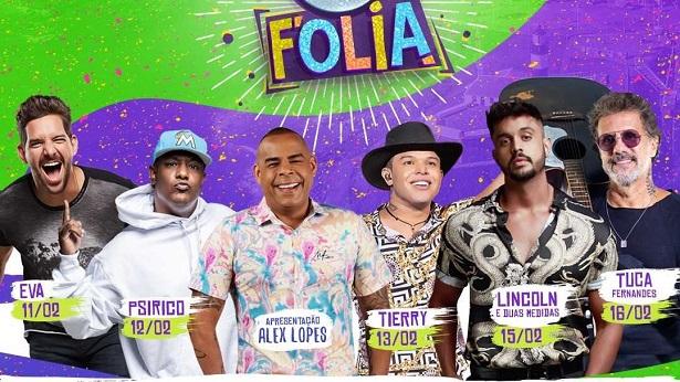 SBT Folia divulga programação com Tierry, Psirico e mais atrações - noticias, entretenimento, bahia