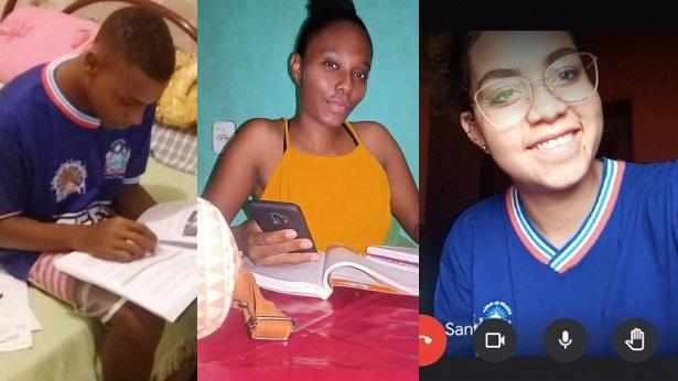Estudantes quilombolas de Cachoeira e Campo Formoso falam sobre experiência com aulas remotas - noticias, cachoeira