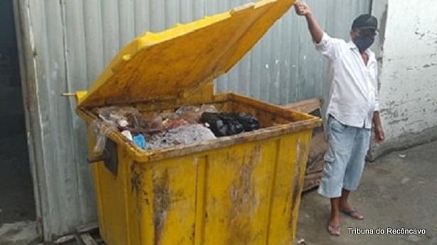 SAJ: Feirante reclama de mau cheiro liberado por caixa coletora de resíduos - videos, saj, destaque