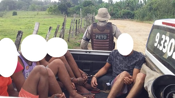 Valença: Drogas e veículos são apreendidos em Serra Grande; homens são conduzidos à delegacia - valenca, destaque