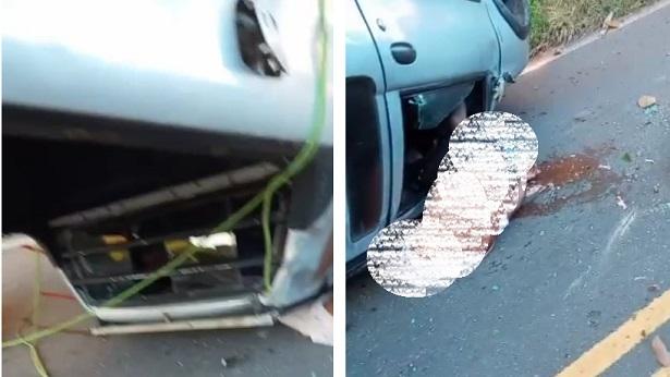 Capotamento de veículo entre Varzedo e Amargosa deixa um morto e um ferido - destaque, amargosa, transito