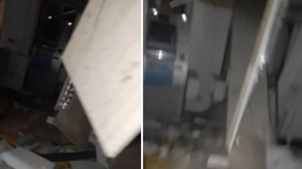 Sapeaçu: Bando atira na sede da PM e explode agência bancária - sapeacu, noticias