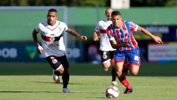 Bahia vence o Atlético de Alagoinhas e segue vivo na briga pelo G-4 do Baianão - esporte