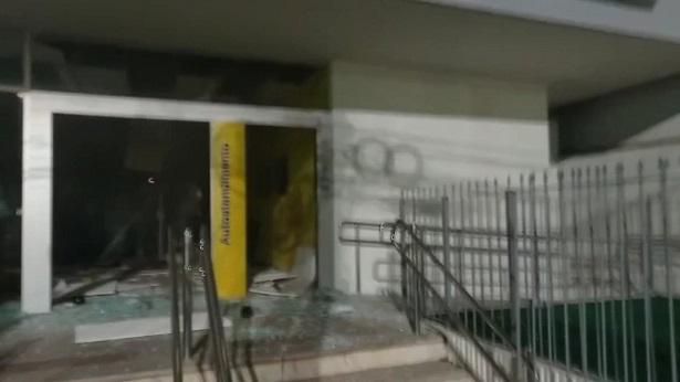 Ubaíra: Quadrilha explode agência do Banco do Brasil - ubaira, noticias, destaque, bahia