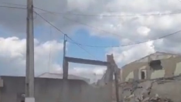 Crisópolis: Dez casas foram destruídas com explosão, diz Defesa Civil - destaque, bahia, transito