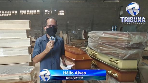 VÍDEO: Poderá faltar caixão em Santo Antônio de Jesus e região - videos, saj, noticias, destaque