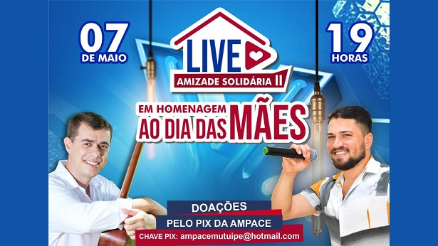 """Presente para as mães: Live """"Valney e Jânio: Entre Amigos"""" terá nova edição - saj, noticias, mutuipe"""