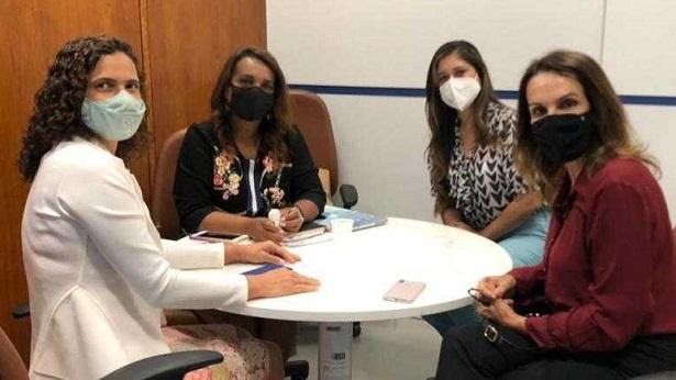 SAJ: Secretários municipais se reúnem com ministro e parlamentares em Brasília - saj, noticias, destaque