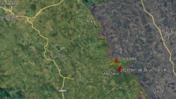 Novo tremor de terra é percebido entre Amargosa e São Miguel das Matas - sao-miguel-das-matas, destaque, ciencia, bahia, amargosa