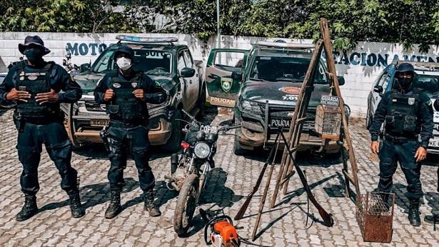 Amargosa: GCM e Polícia Ambiental deflagram operação para combater crimes ambientais - policia, noticias, bahia, amargosa