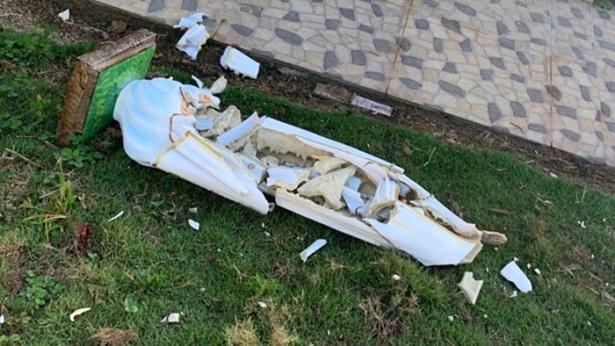 Guaratinga: Homem destrói imagem de Nossa Senhora de Fátima no povoado de Monte Alegre - noticias, destaque