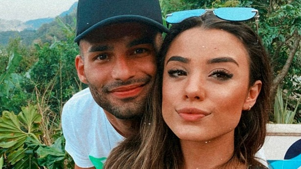 Cantora gospel Isadora Pompeo e jogador Thiago Maia se separam após dois meses de casados - celebridade