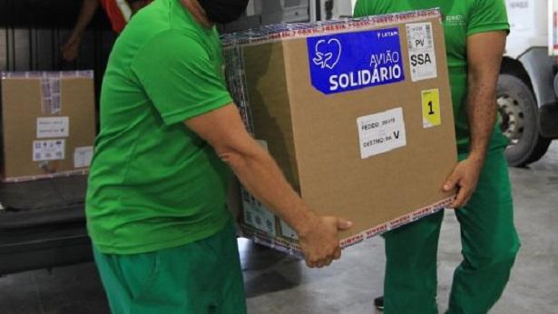 Bahia recebe primeiro lote de vacinas da Pfizer e mais 405 mil doses da AstraZeneca - noticias, bahia