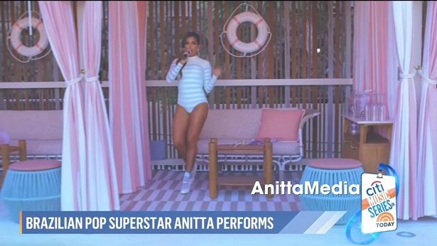 Anitta apresenta 'Girl From Rio' em programa de TV tradicional dos EUA - celebridade