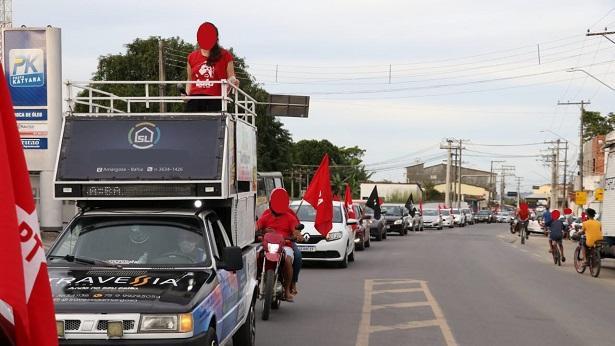 Amargosa: Líderes do PT realizam manifestação contra Bolsonaro - noticias, destaque, amargosa