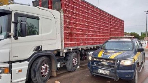 Seabra: Caminhão que transportava carga viva é apreendido na BR-242 - seabra, policia, bahia