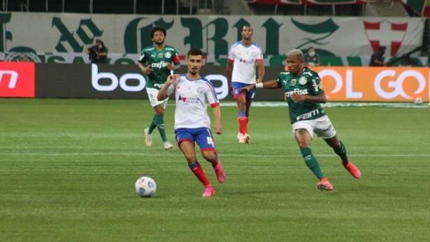 Bahia deixa escapar triunfo no Allianz Parque e perde para o Palmeiras - esporte