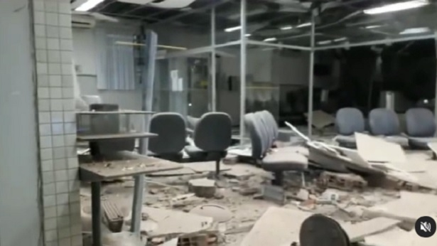 Conceição do Almeida: Agência do Banco do Brasil foi explodida na madrugada deste domingo - destaque, conceicao-do-almeida, bahia