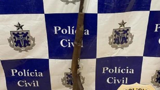 Conceição do Almeida: Homem é preso no Monte Alegre sob acusação de ameaçar moradores - destaque, conceicao-do-almeida