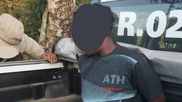 Laje: Acusado de praticar assaltos na zona rural é preso no KM 37 - mutuipe, laje, destaque, bahia