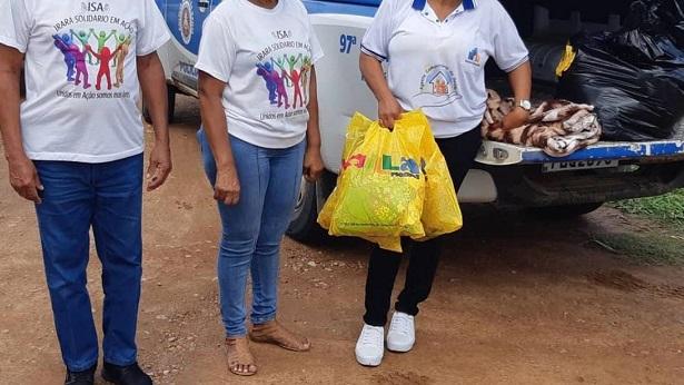 Irará: 97ª CIPM distribui agasalhos e cobertores - irara, bahia