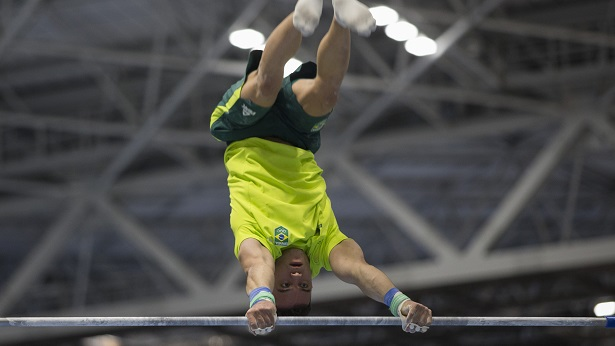 Caio Souza finaliza participação no individual geral da ginástica artística dos Jogos de Tóquio - noticias, esporte