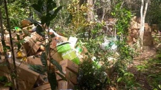 Entre Rios: Carga de alimentos e produtos higiênicos é recuperada após roubo - policia, entre-rios, bahia