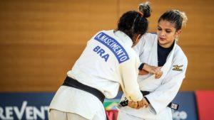 Larissa Pimenta não supera terceira do mundo e agora pensa na disputa por equipes nos Jogos de Tóquio - esporte