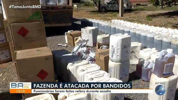 São Desidério: Fazenda é assaltada no distrito de Roda Velha - sao-desiderio, policia, bahia