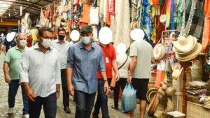Equipe técnica do município de Santo Antônio de Jesus visita Feiras e Mercados em Sergipe - saj, bahia