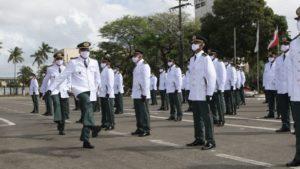 PM forma primeira turma de tenentes auxiliares na Vila Militar dos Dendezeiros - noticias, bahia