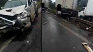 Acidente com mais de 10 carros deixa uma pessoa morta e vários feridos entre Cruz e Muritiba - noticias, governador-mangabeira, destaque, cruz-das-almas, bahia, transito