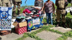 Ilhéus: PM doa para instituições filantrópicas ítens arrecadados na Campanha do Agasalho - ilheus, bahia