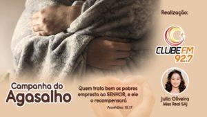 Campanha do Agasalho é realizada em Santo Antônio de Jesus - saj, destaque