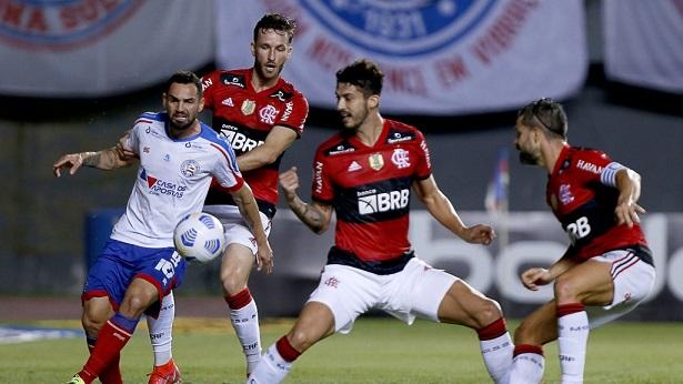 Bahia perde para o Flamengo no Pituaçu por 5 a 0 - esporte