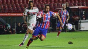 Bahia perde para o São Paulo no Morumbi - esporte