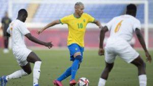Brasil empata com Costa do Marfim no futebol masculino - esporte