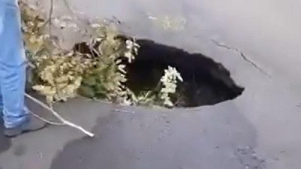Cratera no Entroncamento de Salinas da Margarida preocupa motoristas - salinas-da-margarida, destaque