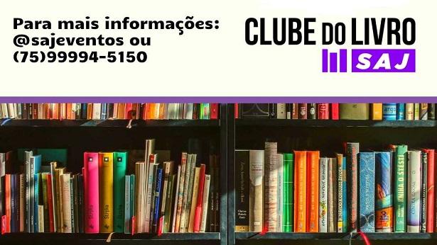 Será no sábado (31) o 5° Encontro do Clube do Livro SAJ; inscreva-se já - saj, literatura, destaque